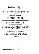 Astronomisches Handbuch: Band 4