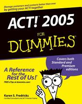 ACT! 2005 For Dummies
