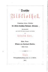 Esopus: Sammlung seltener Schriften der älteren deutschen National-Literatur : mit Erläuterungen versehen. 1