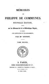 Mémoires de Philippe de Commynes: Volume2