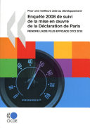 Better aid   2008 survey on monitoring the Paris Declaration   making aid more effective by 2010 PDF