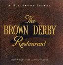 The Brown Derby Restaurant Book
