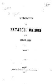 Mediacion de Estados Unidos en la guerra del Pacifico: Bolivia