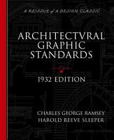 Architectural Graphic Standards for Architects  Engineers  Decorators  Builders and Draftsmen PDF