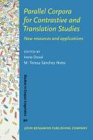 Parallel Corpora for Contrastive and Translation Studies PDF