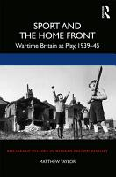 Sport and the Home Front PDF