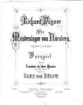 Die Meistersinger von Nürnberg: Vorspiel