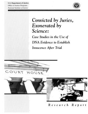 Convicted by Juries, Exonerated by Science