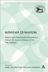 Minhah Le Nahum Book