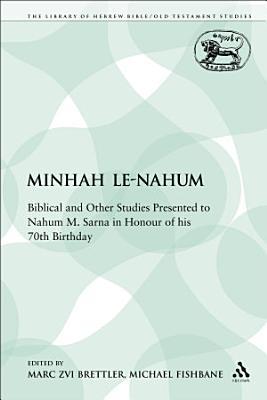 Minhah Le Nahum PDF