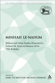 Minhah Le Nahum