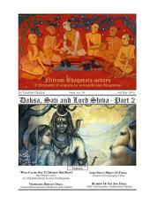 NBS#36: Daksa, Sati and Lord Shiva - Part 2