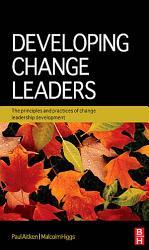 Developing Change Leaders Book PDF