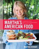 Martha s American Food PDF