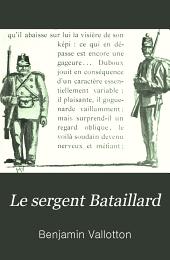 Le sergent Bataillard