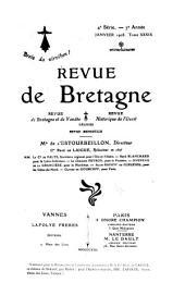 Revue de Bretagne, de Vendée & d'Anjou: Volumes39à40