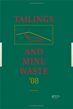 Tailings and Mine Waste  08