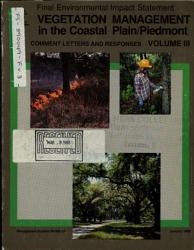 Coastal Plain and Piedmont  Vegetation Management PDF