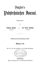 Dinglers polytechnisches journal: Band 236