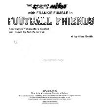 The Sport Mites with Frankie Fumble in Football Friends PDF