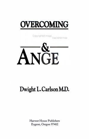 Overcoming Hurts   Anger
