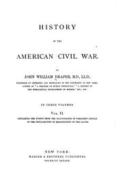 History of the American Civil War: Volume 2