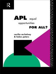 Apl Equal Opportunities For All  Book PDF