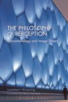 The Philosophy of Perception PDF