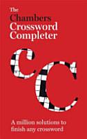 Chambers Crossword Completer PDF
