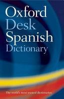 Oxford Spanish Desk Dictionary PDF