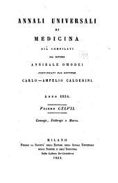 Annali universali di medicina: Volume 147