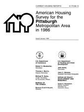 Current housing reports: American housing survey for the Pittsburgh metropolitan area in ..., Issue 2
