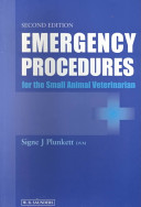 Emergency Procedures for the Small Animal Veterinarian PDF