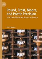 Pound  Frost  Moore  and Poetic Precision PDF