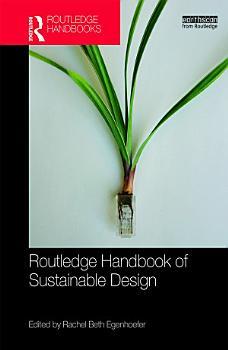 Routledge Handbook of Sustainable Design PDF