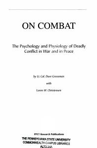 On Combat Book