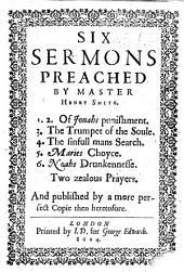 Six Sermons ... Of Jonahs punishment, etc