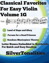 Classical Favorites for Easy Violin Volume 1 G