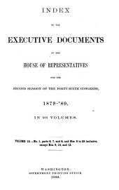 House Documents, Otherwise Publ. as Executive Documents: 13th Congress, 2d Session-49th Congress, 1st Session, Volume 12