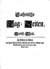 Catholische Tag-Zeiten: Herbst-Theil. 3