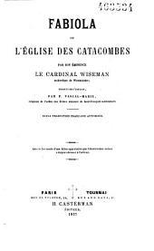 Fabiola ou L'église des catacombes