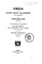 Comedia di Dante degli Allagherii: 3, Volume 3
