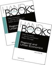 Handbook of Regional and Urban Economics SET