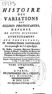 Histoire des variations des eglises protestantes ...: Volume1
