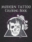 Modern Tattoo Coloring Book PDF