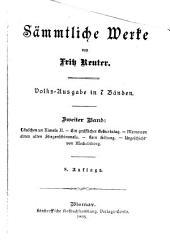 Läuschen un Rimels II. ; Ein gräflicher Geburtstag ; Memoiren eines alten Fliegenschimmels ; Kein Hüsung ; Urgeschicht' von Meckelnborg