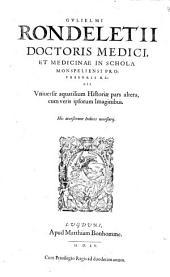 Universae aquatilium Historiae pars altera