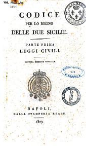 Codice per Lo Regno Delle Due Sicilie
