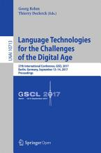 Language Technologies for the Challenges of the Digital Age PDF