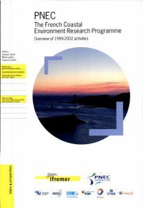 PNEC   Le Programme National Pour L environnement C  tier  Pr  sentation Des Activit  s de 1999    2002